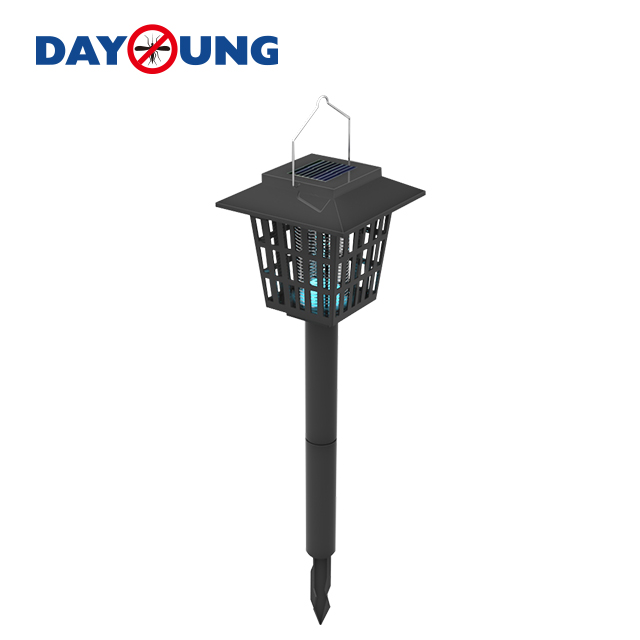 OEM/ODM Factory Finished Mosquito Mats Selled To Vietnam - Eco-friendly Solar Electric Outdoor garden power Garden mosquito fly trap/killer lamp pest control – DAYANG