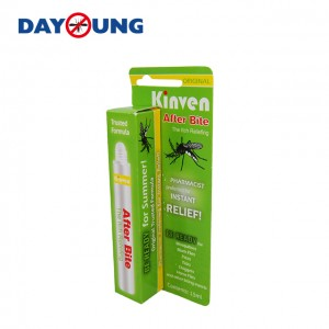 Pest control spray after mosquito bite, easy to carry, used in different occasions