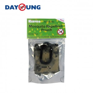 Mosquito repellent pouch