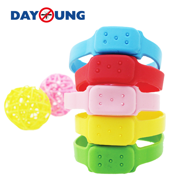 Silicone mosquito repellent wristband Featured Image