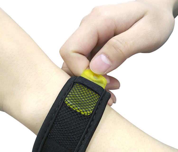 efon repellent wristband pẹlu refills 100% Natural efon repellent Wristband