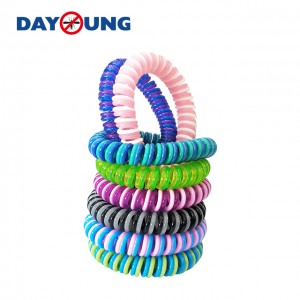 Double Color EVA Mosquito repellent bracelet-AMB115