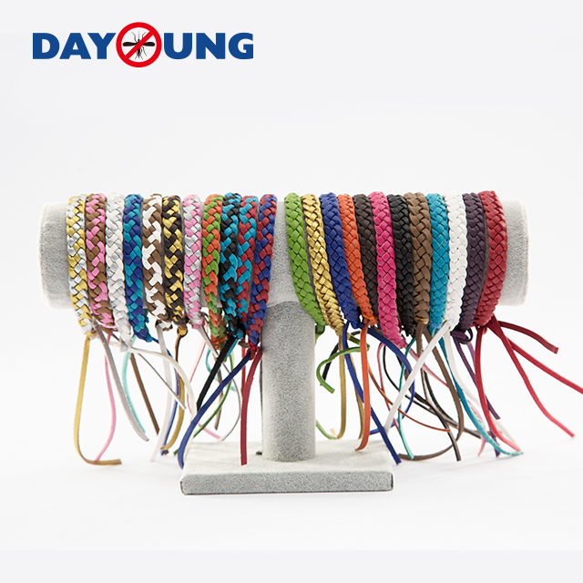 Leather mosquito repellent wristband Featured Image
