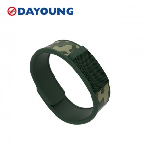 100% Natural Mosquito Repellent Wristband
