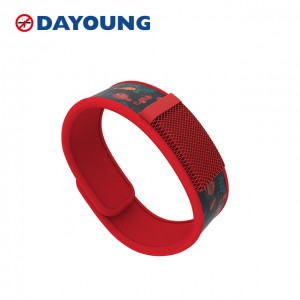 100% Naturali Mosquito Repellent Wristband