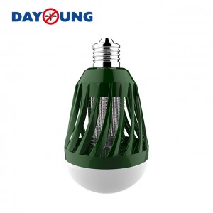 2 in 1 led lampadina zanzara