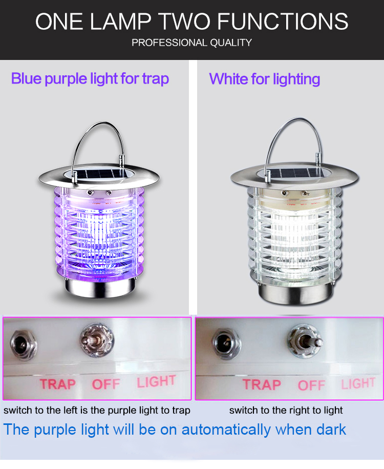 mosquito killer lamp-function
