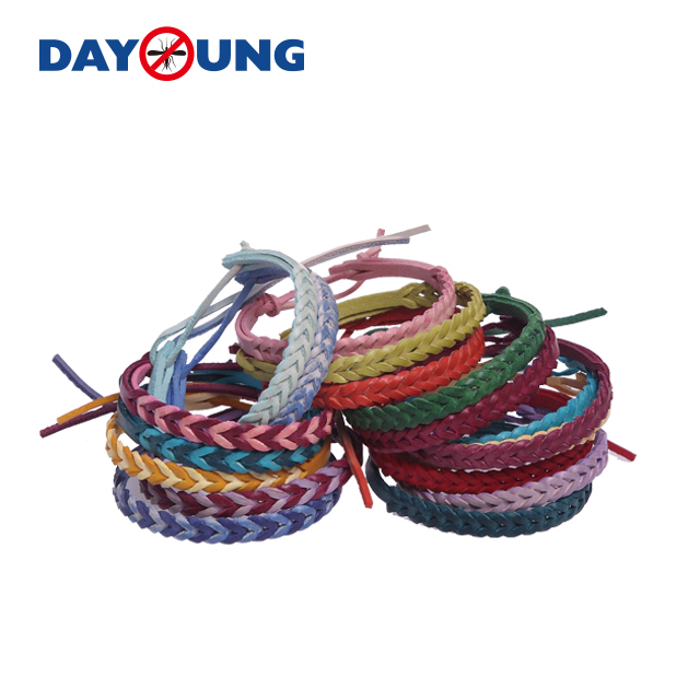 New Arrival China Pest Control Bracelet - Leather mosquito repellent wristband – DAYANG
